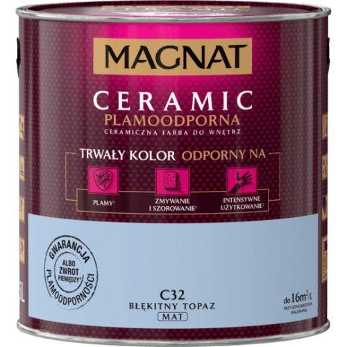 MAGNAT CERAMIC BŁĘKITNY TOPAZ C32 2,5L