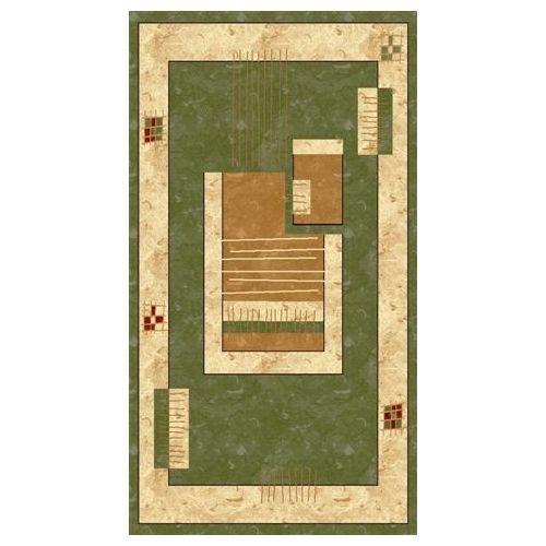 Dywan Prostokątny Rosa 3636 Green 1,2 x 2,8