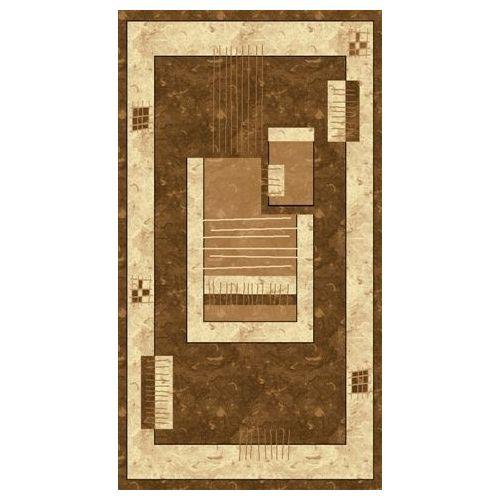 Dywan Owalny Rosa 3636 Brown 1,4 x 1,9