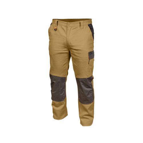 Beżowe Spodnie Robocze 2XL