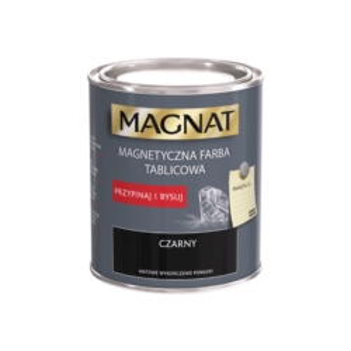 MAGNAT FARBA MAGNETYCZNO-TABLICOWA CZARNA 0,75 L
