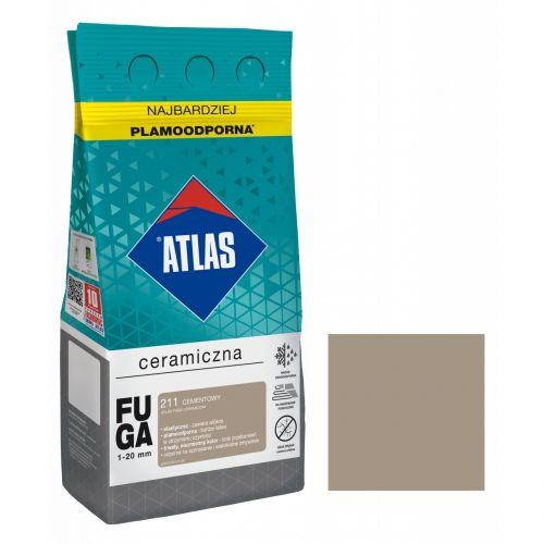 ATLAS FUGA CERAMICZNA CEMENTOWA 211 5KG