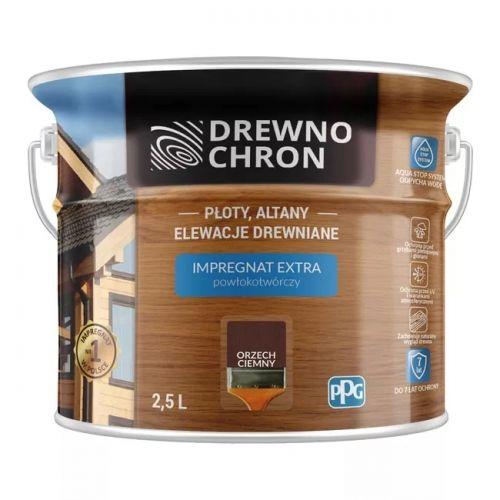 IMPREGNAT DREWNOCHRON 2,5 L ORZECH CIEMNY