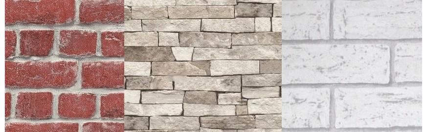 Cegły, Mury, Kamień